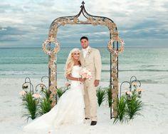 Beach Wedding White Sands Weddings Pensacola Florida Whitesandswedding