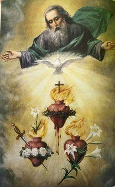 Catholic Art, Catholic Saints, Religious Art, Religious Pictures, Jesus Pictures, Jesus Jose Y Maria, St Therese Of Lisieux, Jesus Christ Images, Christian Artwork