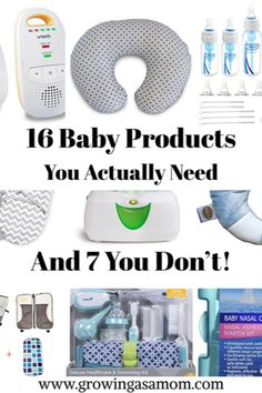 The List of what baby products you need, and why! And some to save your money on #growingasamom #baby #babyshower #babygift #newmom #babystore #musthavebaby #nursery