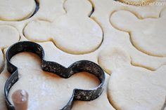Mickey Mouse Honey Butter Biscuits