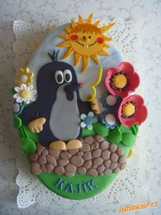 dortík Food Art, A Food, Cake Cookies, Cake Decorating, Birthday Cake, Carving, Desserts, Kitchens, Cake Ideas