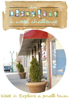 Adventure challenge! Explore a small town.
