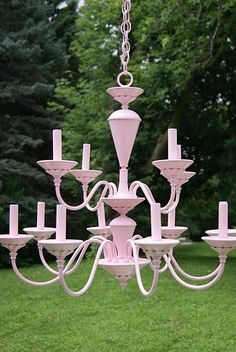 paint an old brass chandelier.... done this for years.....