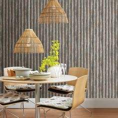 Brewster Home Fashions Charcoal Corrugated Metal Industrial Texture Non-Woven Wallpaper Charcoal Wallpaper, Look Wallpaper, Metallic Wallpaper, Wallpaper Samples, Textured Wallpaper, Wallpaper Murals, Wallpaper Ideas, Rack Industrial, Vintage Industrial Decor