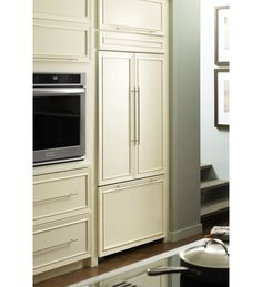 KitchenAid® 22.6 Cu. Ft. 42 Inch Width Built In French Door