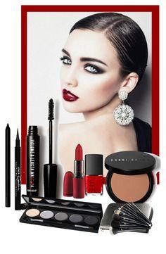 """Dark MakeUp!"" by bliznec ❤ liked on Polyvore featuring beauty, Love 21, Givenchy, NARS Cosmetics, Isadora, Giorgio Armani, Bobbi Brown Cosmetics, MAC Cosmetics and Lancôme"