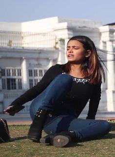 209. Two Desi Girls Fighting In The Park Hair Lengthening, Girl Back, Girl Fights, Bodysuit Fashion, College Girls, Indian Beauty, Lesbian, Desi, Study