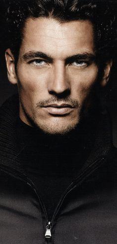 DAVID GANDY, BEAUTY, FASHION, iconic male model, Dolce&Gabbana model