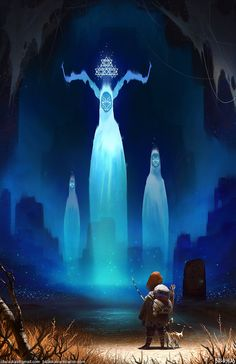 Journey of Anoh: Ancestral Spirits, Christopher Balaskas on ArtStation at…