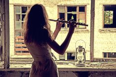 Flute of Füsun  by ~NovembRedFox  Photography / People & Portraits / Emotive Portraits