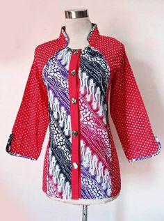 Batik Fashion, Abaya Fashion, Fashion Sewing, Blouse Batik, Batik Dress, Batik Kebaya, Kebaya Muslim, Casual Hijab Outfit, Kurta Designs