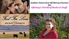#AuthorInterview Merry Farmer, the author of Fool For Love.. Read my very interesting Interview with Merry and also enter the #Giveaway to win cool prizes!  http://njkinny.blogspot.in/2014/09/author-interview-merry-farmer-author-in.html  #HistoricalRomance