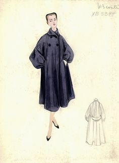 Simonetta Visconti Coat by FIT Library Department of Special Collections, via Flickr