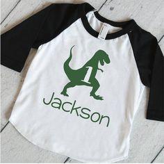 Kids Birthday Outfit, Dinosaur Shirt, T-Rex Birthday Shirt, Dinosaur Birthday Party Shirt, One Year Old Dino Shirt 316 3rd Birthday Boys, Birthday Boy Shirts, Dinosaur Birthday Party, Birthday Parties, Birthday Ideas, 1st Birthday Outfit Boy, Birthday Cake, Big Brother Little Brother, Big Brother Shirts