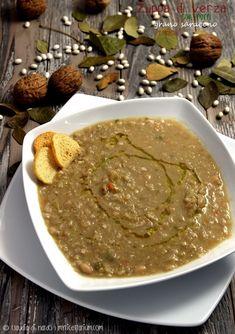 My Ricettarium: Zuppa di verza con fagioli, porro e grano saraceno...