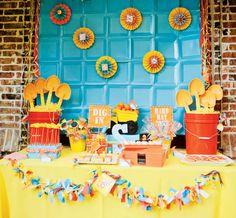 Kids Birthday - Hostess with the Mostess® Construction theme birthday party ideas