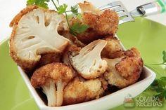 Receita de Couve- flor empanada em receitas de legumes e verduras, veja essa e outras receitas aqui!