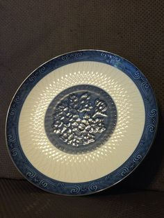 "15"" Exquisite Quality #Imari Hand made Platter Pattern: Floral/Cross/Net Infinity"