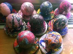 artisan des arts: Holton Rower Pour Paint - grade 2/3 could build on a pop art cupcake or icecream project as well