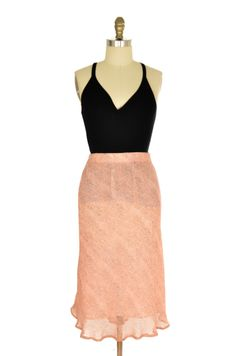 Jaclyn Smith Pink Print Skirt Size XL | ClosetDash #fashion #skirt #style