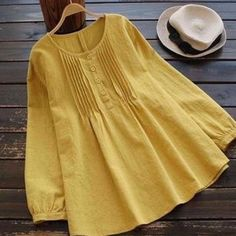 Pastorcici Lidia (@lidia_pastorcic) Pinterest profile analytics Blouse Vintage, Cotton Blouses, Women's Summer Fashion, Chic Outfits, Latest Fashion Trends, Blouses For Women, Tunic Tops, Profile, Dots