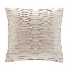"Threshold 18x18"" Metallic Print Pillow"
