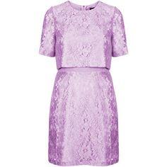 TOPSHOP 60s Lace Shift Dress