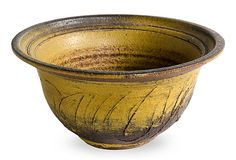 Paul Soldner Ceramic Sgraffito Bowl