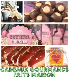 DIY Cadeaux de Noël faits maison Cowgirl Cookies, Sos Cookies, Diy Cadeau Noel, Merry Xmas, Diy Kits, Caramel Apples, Xmas Gifts, Homemade Gifts, Christmas Time