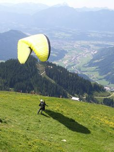 paragliding love this view
