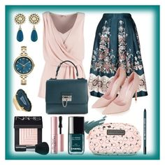 """""""Teal Me Baby"""" by rosiepeter ❤ liked on Polyvore"""