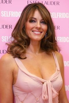 Random Yum this week:  Elizabeth Hurley and Estee Lauder for Breast Health Awareness Month.    I am aware.