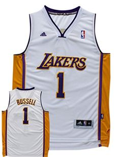 c2b31275047 Buy NBA Lakers 1 D Angelo Russell White New Revolution 30 Swingman Jersey  from Reliable NBA Lakers 1 D Angelo Russell White New Revolution 30  Swingman ...