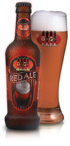 Doğal kızıl tonunu üretiminde kullanılan maltlardan alan bu biranın orta gövdeli bir yapısı vardır. Güçlü karamel ve meyvemsi malt tadı, kıtasal Avrupa Perle ve Hallertauer şerbetçiotlarının verdiği hafif fakat iddialı acılığını dengeler. TAPS Red Ale, Japonya'da 2008'de yapılan 'Uluslararası Bira Yarışmasında' gümüş madalya kazanmıştır.     Alkol oranı : %4,0  Acılık : Orta  Maya : Alman Ale Mayası  Özel Şerbetçiotu : Hallertauer Tradition  Özel Malt : Karamel Malt  #craftbeer