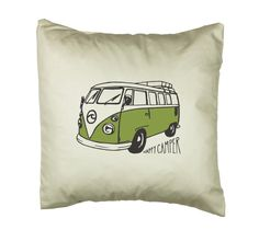 Happy Camper Van Cushion