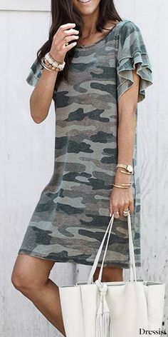 Style Fashion Tips Hot Sale!Style Fashion Tips Hot Sale! Sexy Dance, Short T Shirt, Camouflage T Shirts, Hot, Look Fashion, 80s Fashion, College Fashion, Petite Fashion, Camo Dress