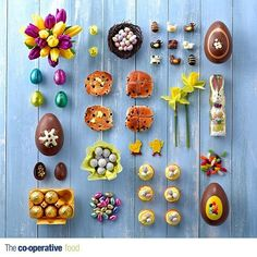 Co-operative Easter food Grid