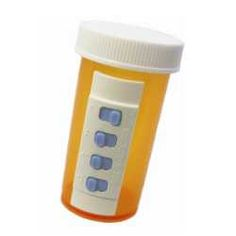 This ingenuous little gadget was developed by a lady who kept forgetting whether she took her pills and did not want to organize them in a larger pill holder. #eldercare #aging #caregiving
