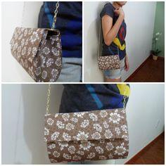 Bolsa Maria com alça de correnrinha