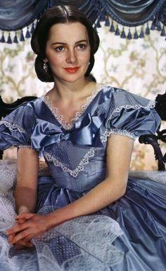 "Olivia de Havilland - ""Gone With the Wind"" (1939) - Costume designer : Walter Plunkett"
