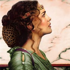 Padmé. This painting is quite lovely.
