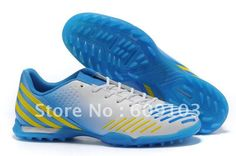 New Arrival New Men's Football Shoes Turf Ground White/Blue/Yellow Size US6.5-11 on AliExpress.com. $58.00