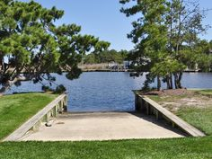 Launch your boat from your private boat ramp! Lake Dock, Boat Dock, Costa, Bethany Beach, Lakefront Property, Waterfront Homes, River House, Lake Life, Rustic Design