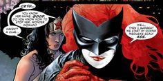 Batwoman learns that she and Wonder Woman have a common foe.