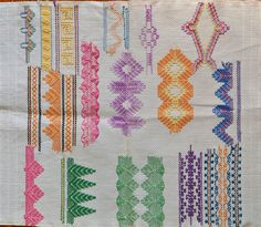 Swedish Weaving sampler