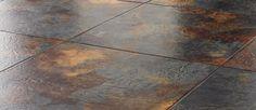 Karndean Da Vinci Celtic Slate Hydria Vinyl Tile x 16 . Karndean Design Flooring, Stone Flooring, Stone Kitchen Floor, Black Granite Sink, Vinyl Laminate Flooring, Best Flooring For Kitchen, Brick Colors, Open Concept Kitchen, Commercial Flooring