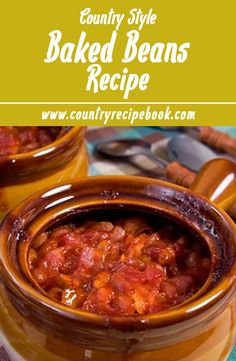 Don't settle for normal beans, make the most flavorful baked beans you've ever had. This easy recipe will make the best country style baked beans ever.