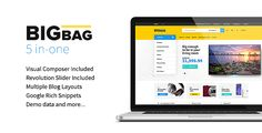 #BigBag - Premium WooCommerce #WordPress #Theme - WooCommerce #eCommerce