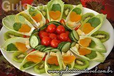 Salada com endívia e damasco
