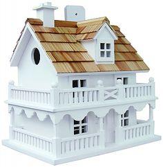 Home Bazaar Novelty Cottage Birdhouse | seattleluxe.com